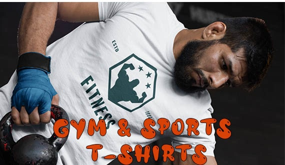 Gym and Sports T-Shirt Collection