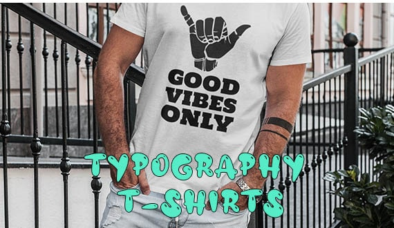Typography T-Shirt Collection